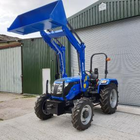 Solis 50 4wd Tractor with Solis Loader & Bucket