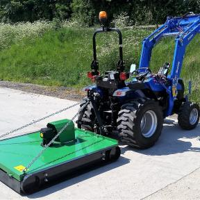 Solis 26 with Finishing Mower