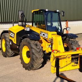 JCB 526-56 Agri Loadall - Sold to Hampshire