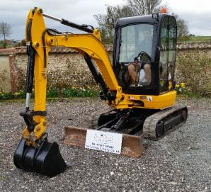 JCB 8025ZTS Micro Excavator at Tallut Machinery, Dorset, Wiltshire, Hampshire