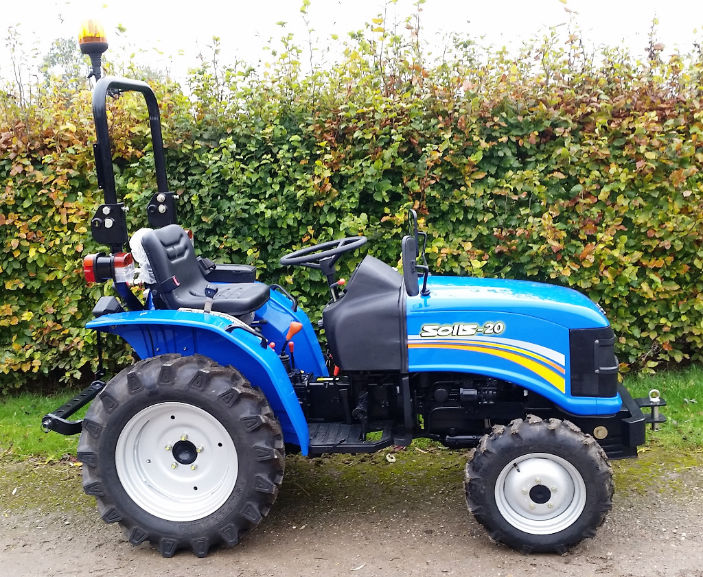 Tallut Machinery Buy New Compact Tractors Solis 20 4wd