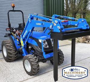 Solis 26 with Loader and Pallet Forks & Bucket for sale in Dorset