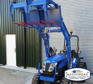 Solis 26 with Front Loader, 4in1 Bucket and Grab for sale in Dorset