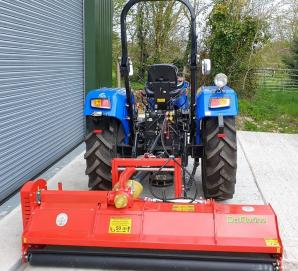 New Solis 50 2WD Tractor with New 2.14m HD Flail Mower for sale in Dorset