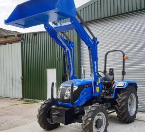 Solis 50 4WD with Solis Loader and Bucket for sale in Dorset