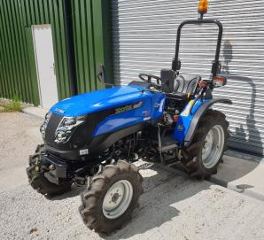 New Solis 26 Tractor on Agri Tyres for sale in Dorset