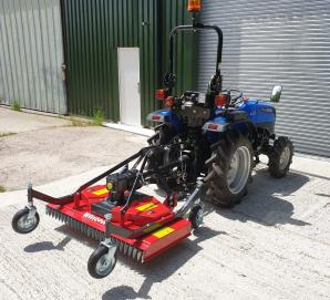 New Solis 26 with 1.2m Finishing Mower for sale in Dorset