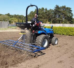 Oxdale 8ft Weeder Spring Tines with Seed Spreader Box for sale in Dorset