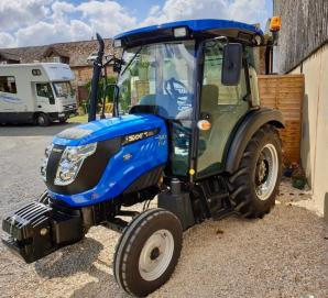 New Solis 50 2wd Tractor with cab for sale in Dorset