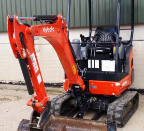 Kubota KX016-4 Mini Excavator/Digger with Canopy