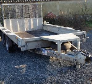 Ifor Williams GX106 Plant Trailer- Front Right