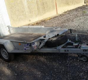 Ifor Williams GH94BT Plant Trailer- Right