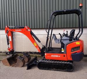 Kubota KX016-4 - Left Side
