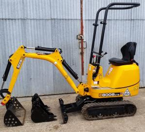 JCB 8008 CTS - Left View