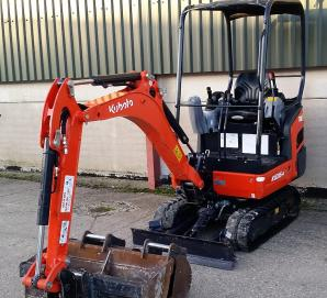 Kubota KX016-4  - Front Left View