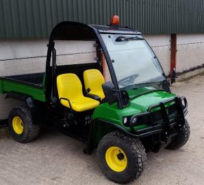 John Deere 855 HPX Gator- Front right View