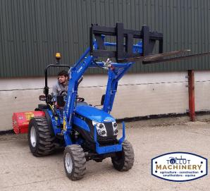 New Solis 26 with Solis Loader & Pallet Forks