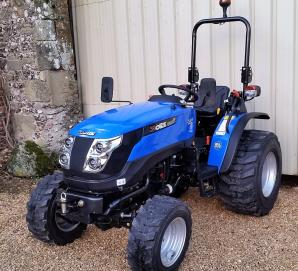 New 2018 Solis 26 Compact Tractor on Industrial Tyres