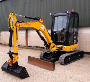 JCB 8025ZTS Midi Excavator with 616 hours