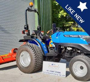Used Solis 26 with 1.58 Flail Mower for sale in Dorset