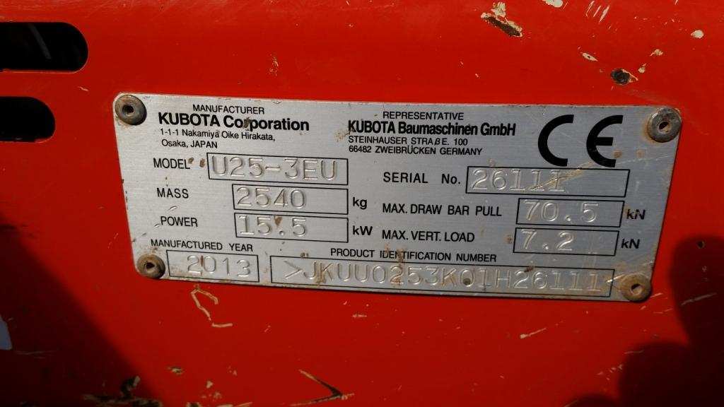 Tallut Machinery Buy Used Construction Machinery Kubota