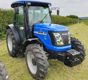New Solis 75 4wd Tractor with Air Con Cab for sale in Dorset
